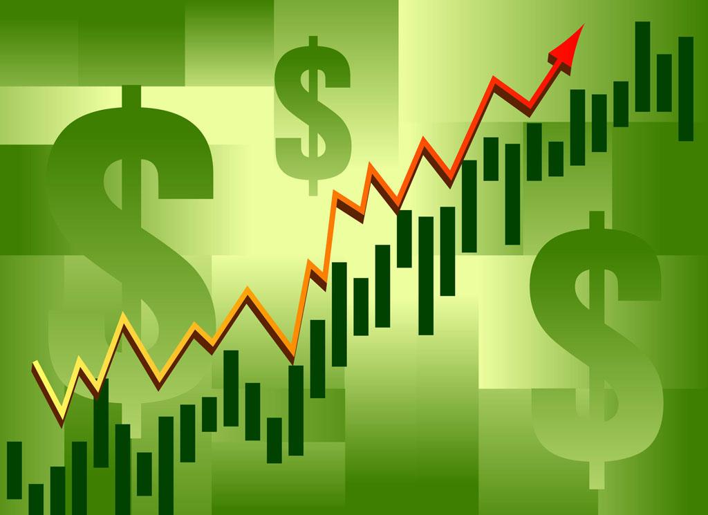 stock exchange vector art