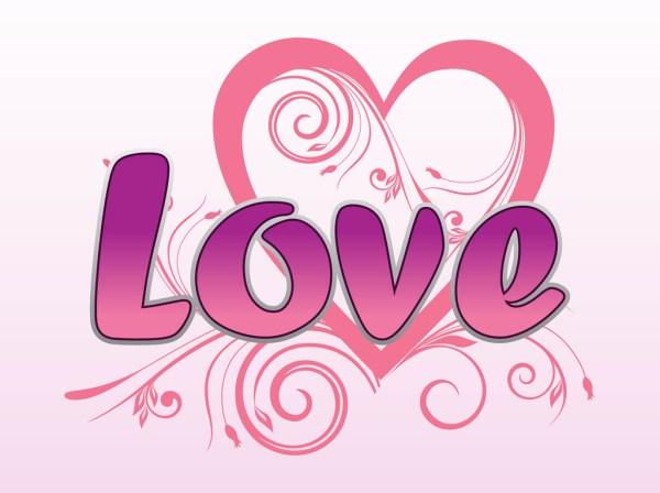 love vector graphics art