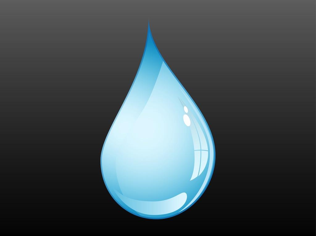 Water Drop Vector Vector Art Graphics Freevector Com