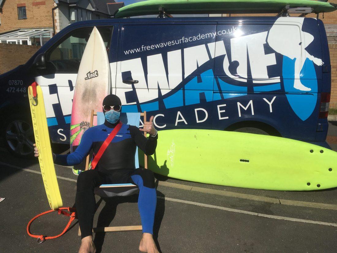 Freewave Surf School Cornwall COVID