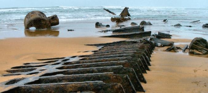 Shipwreck Bude