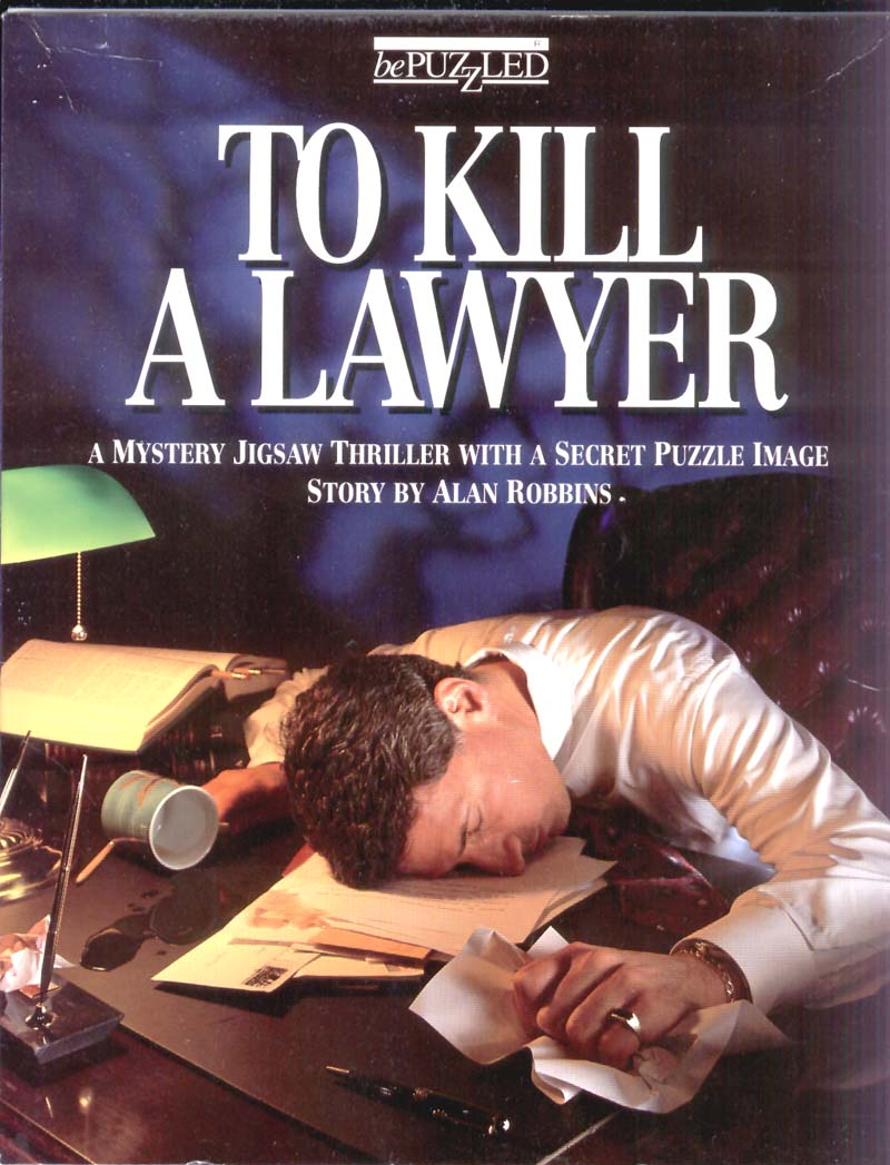 Bepuzzled To Kill A Lawyer Mystery 500pc Jigsaw Puzzle