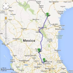 Motorcycle to South America – Crossing the Mexico Border