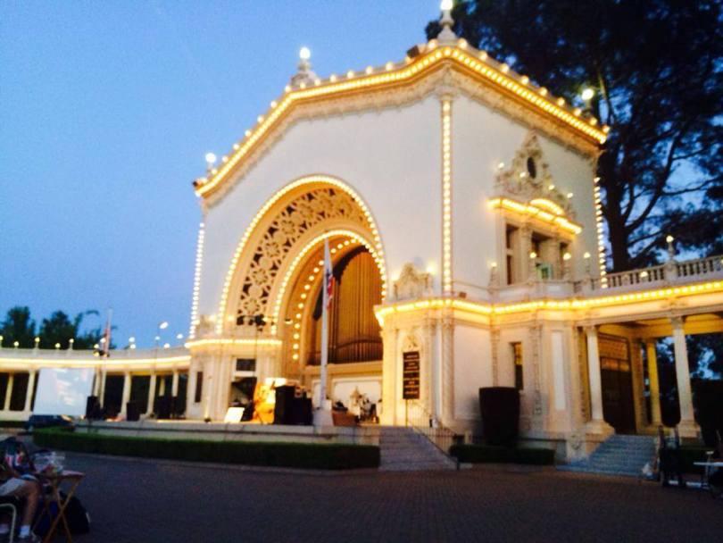 The beautiful Spreckels Organ in Balboa Park