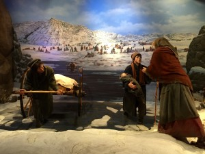 Mormon Handcart Expedition at  the Archway Museum, Kearney, NE