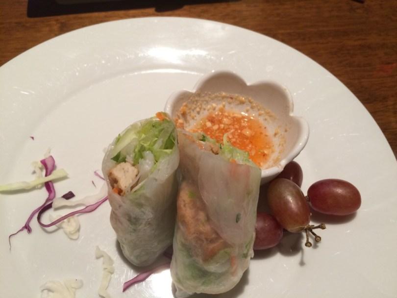 Spring rolls at Suwannee Thai Cuisine