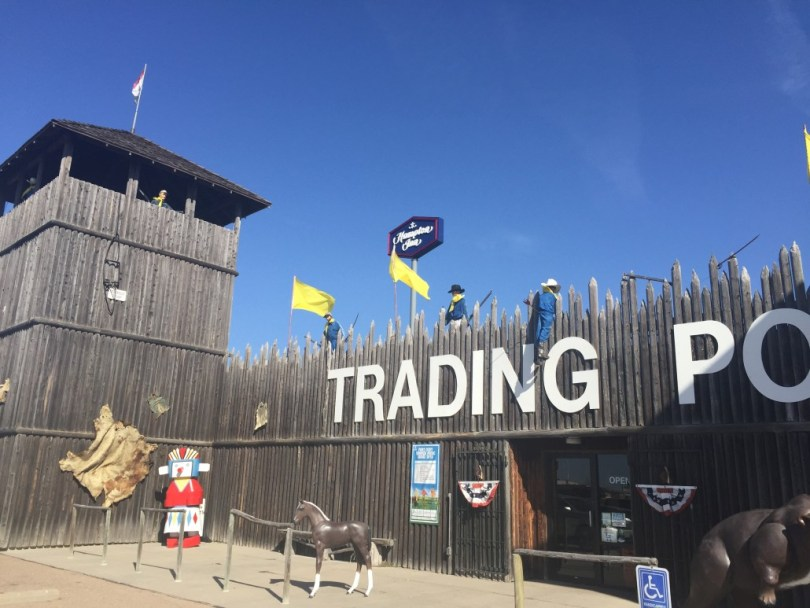 Fort Cody Trading Post Entrance