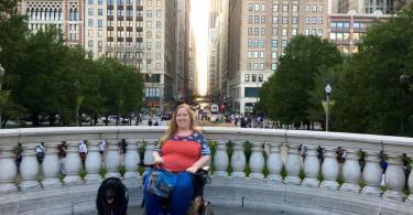 Karin in Chicago, September 2016.