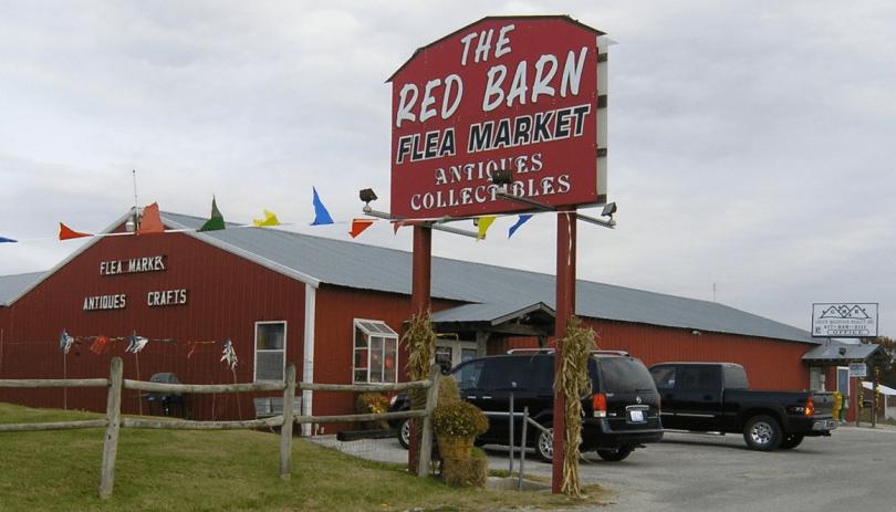 Red Barn Flea Market, Sarasota, Florida.