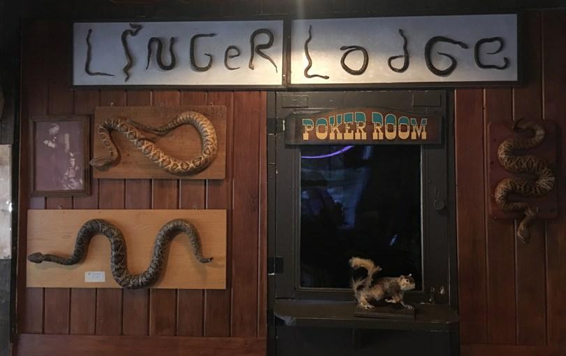 Linger Lodge restaurant in wheelchair accessible Sarasota, Florida.
