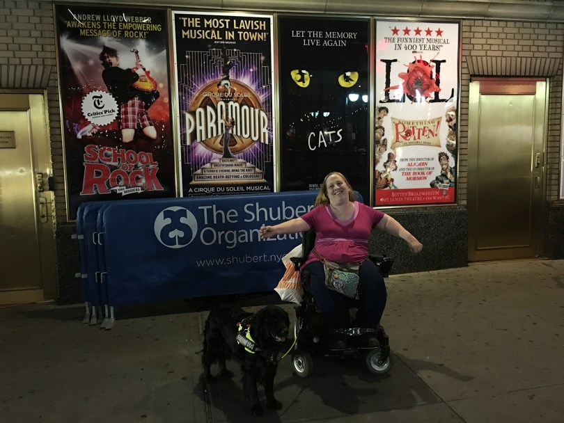 Learn how to buy wheelchair accessible Broadway theatre tickets and enjoy a musical or play if you have a disability.