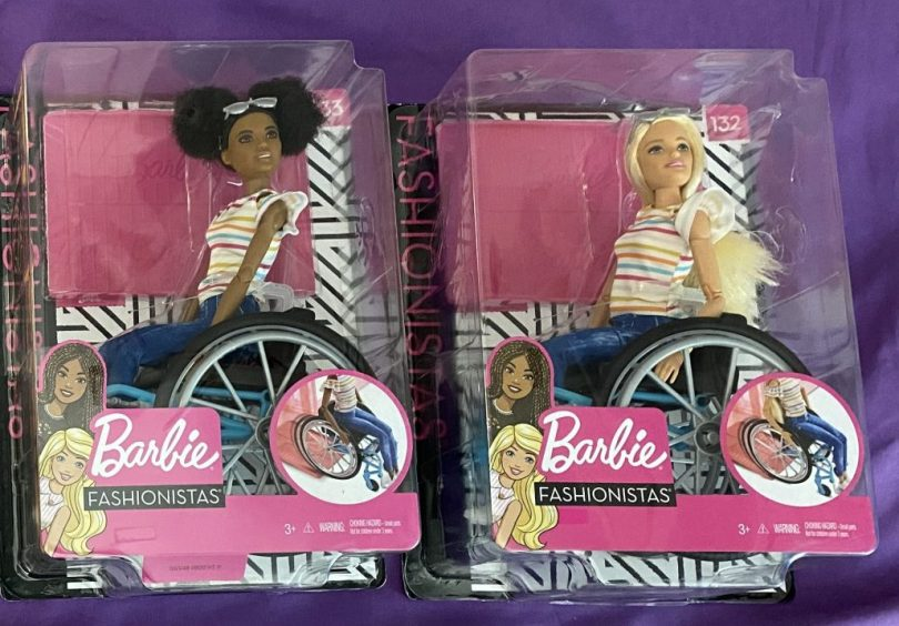 Wheelchair Barbies new in box