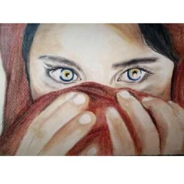 Afghan-woman-Bahara-Abasi-Painting