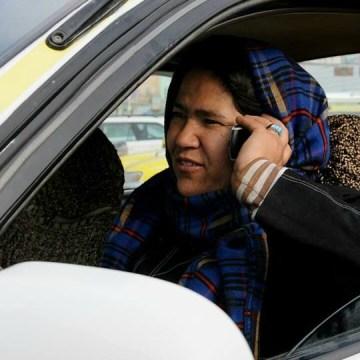 Sara Bahai- Afghanistan-Woman-Taxi-Driver-Afghan