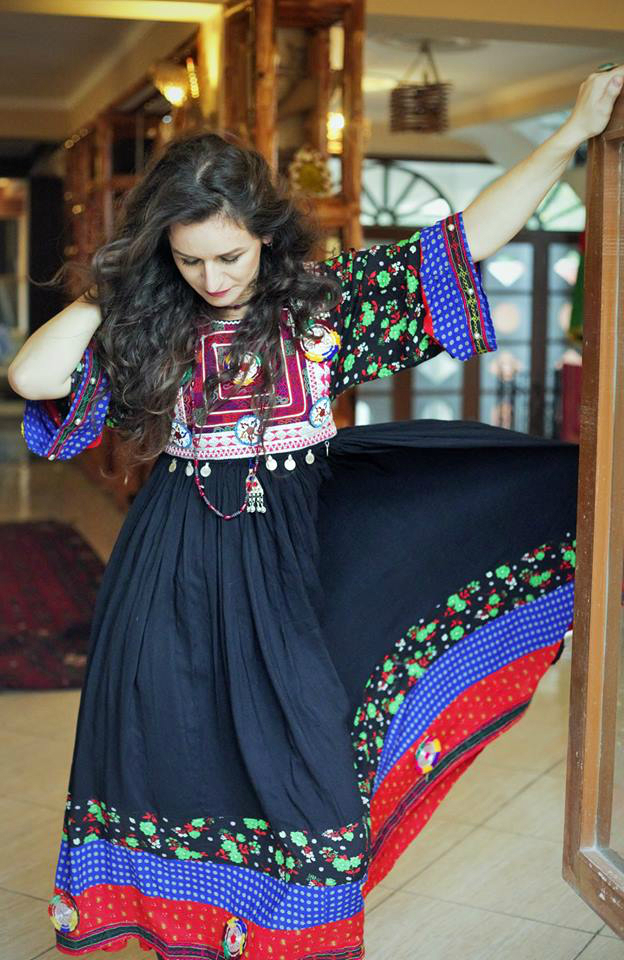 Rahiba  Laman is an Afghan-led fashion label that fuses Western designs  with traditional Afghan elements and handicrafts in order to deliver  quality f035d7f557