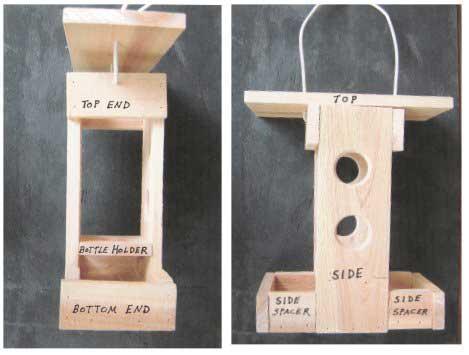 easy wooden bird house plans