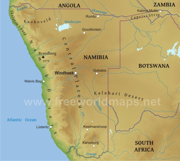 Map Of Africa Kalahari Desert.20 Namibian Desert Map Pictures And Ideas On Weric