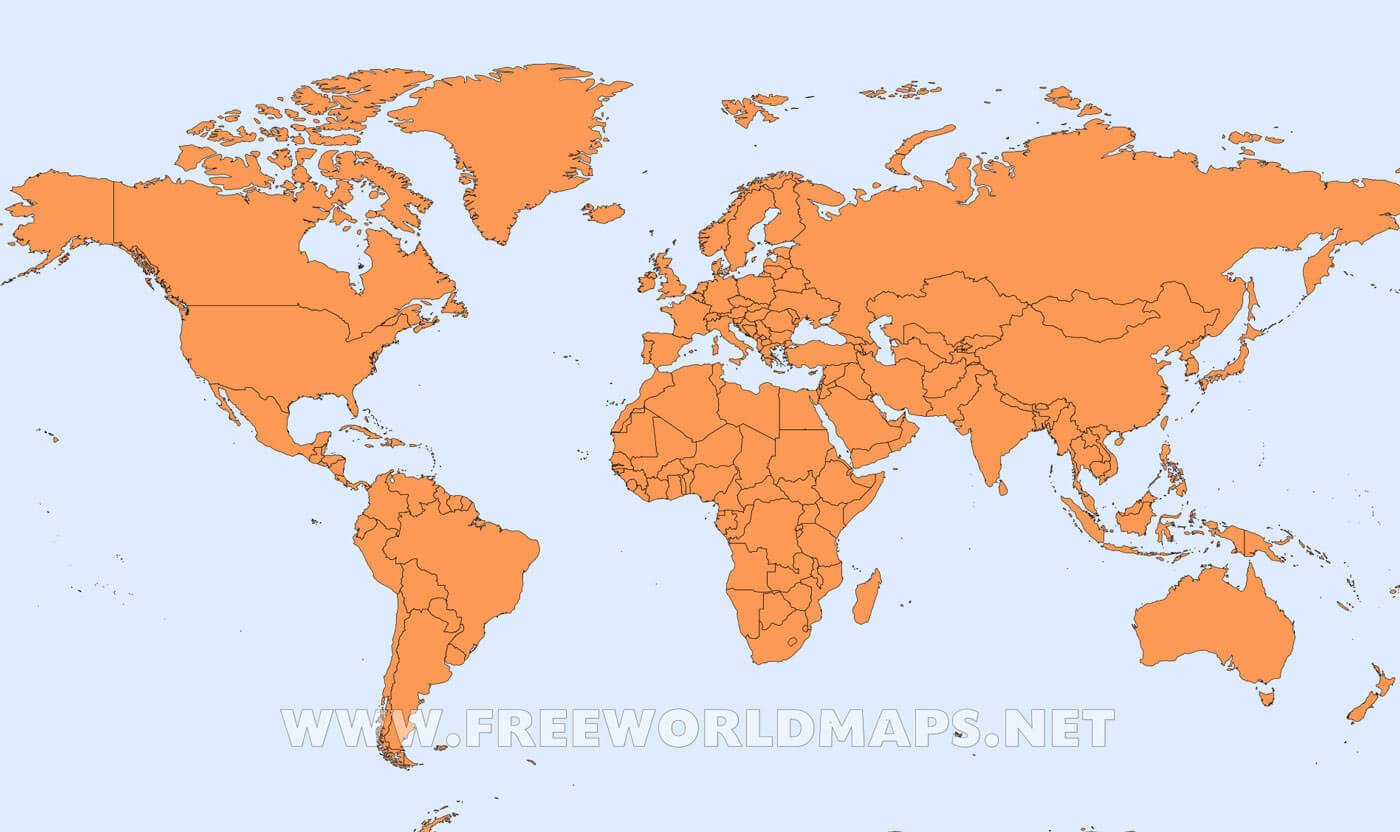 Resultado de imagen para mapa de  mundo