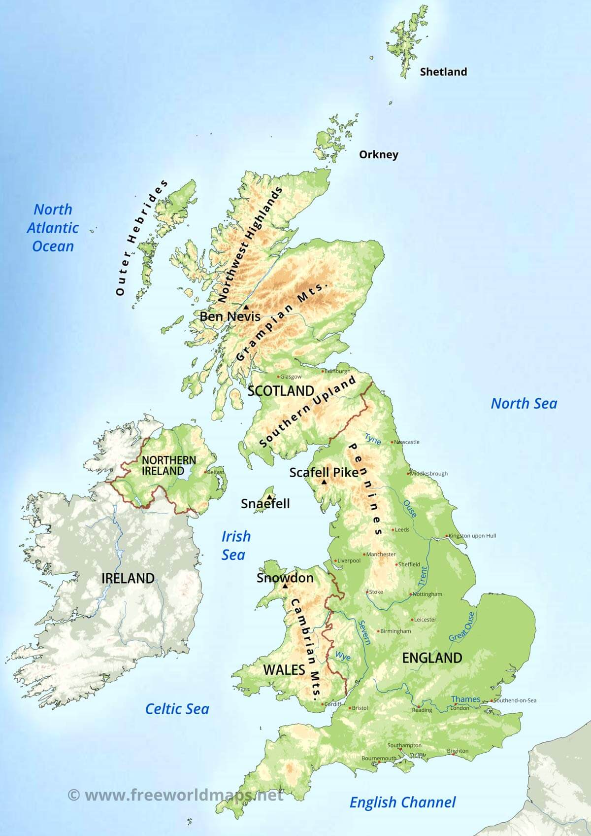 Great rivers of Great Britain