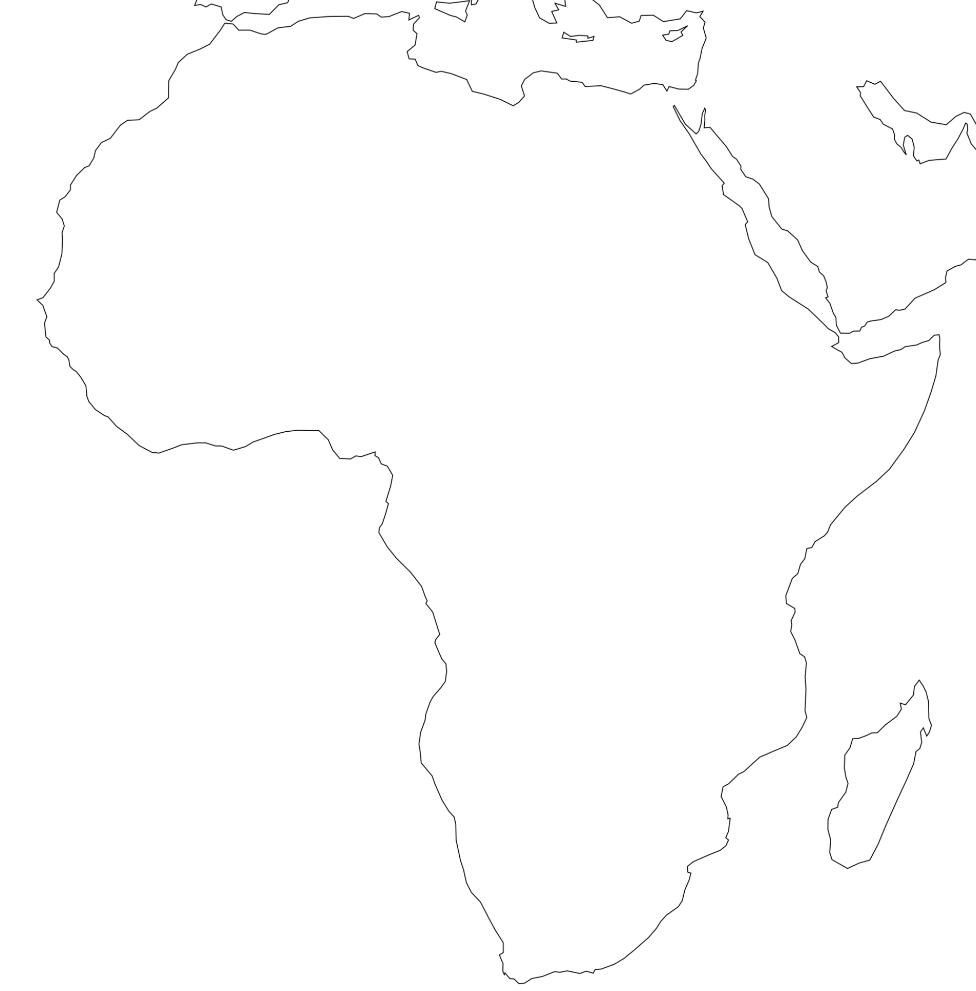 Free Printable Map Of Africa That Are Gutsy