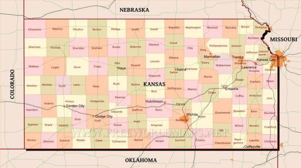 Kansas maps