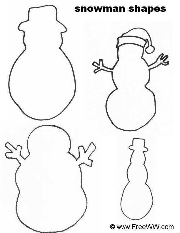 PATTERNS FOR SNOWMAN « Free Patterns
