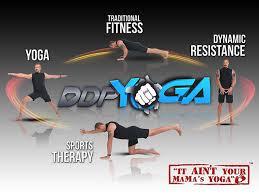 DDP Yoga Poster