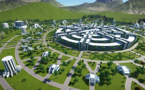 Model of a TVP City