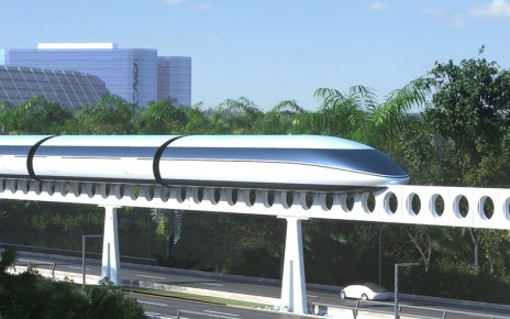 Monorail that goes through the center of ALL TVP cities (The Venus Project)