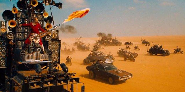 Mad Max - Flaming Guitar