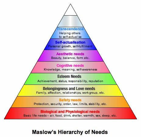 Maslow's Hierarch of Needs (8 levels)