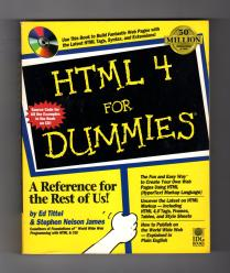 Book Cover for HTML4 for Dummies