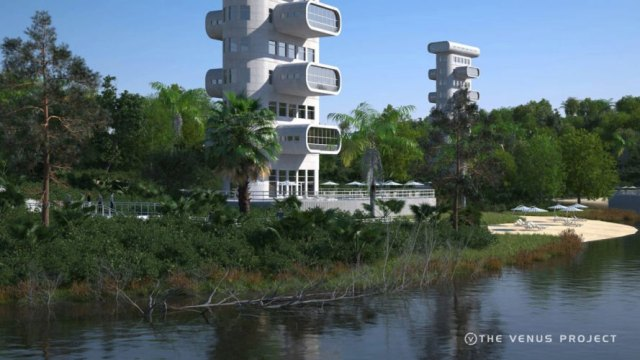 Example housing apartment housing complex (The Venus Project)