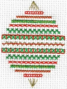 Band Sampler Ornament
