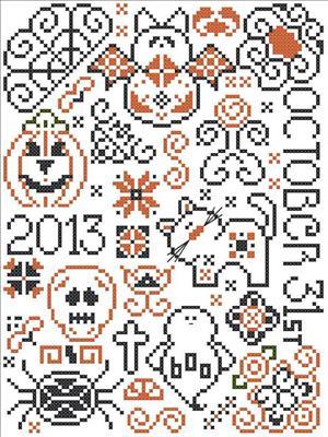 Halloween Quaker Pattern
