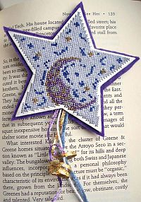 Night Sky Bookmark Finished Preview
