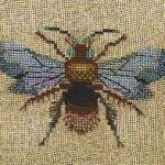 Nora Corbett Bejeweled Bugs bumblee free cross stitch pattern
