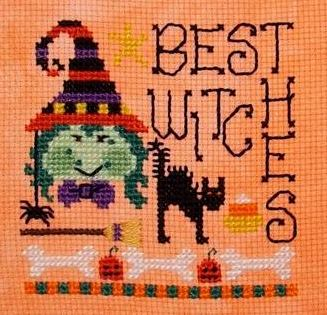 best witches free cross stitch pattern