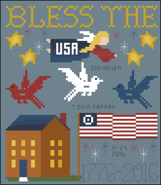 Bless the U.S.A. from OakHaven Design