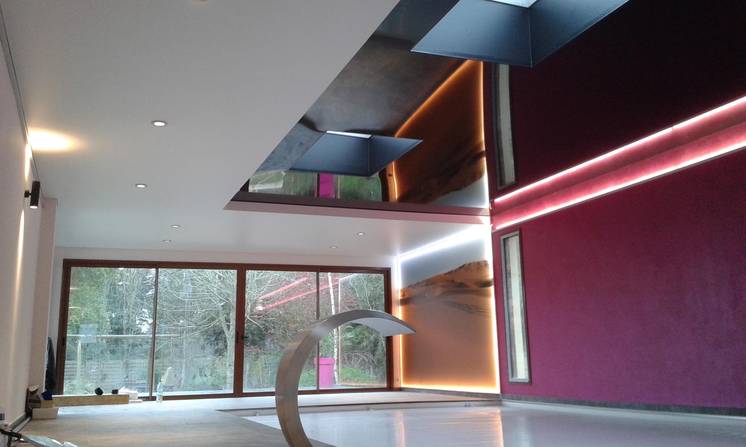 Ralisations Plafond Tendu Peinture Frehel Deco