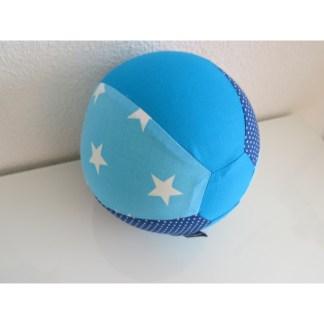 Ballonhülle Sterne türkis - Blau