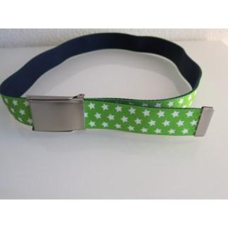 Kindergürtel Sterne grün