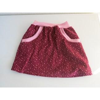 Kinderrock Gr. 116 mit Taschen