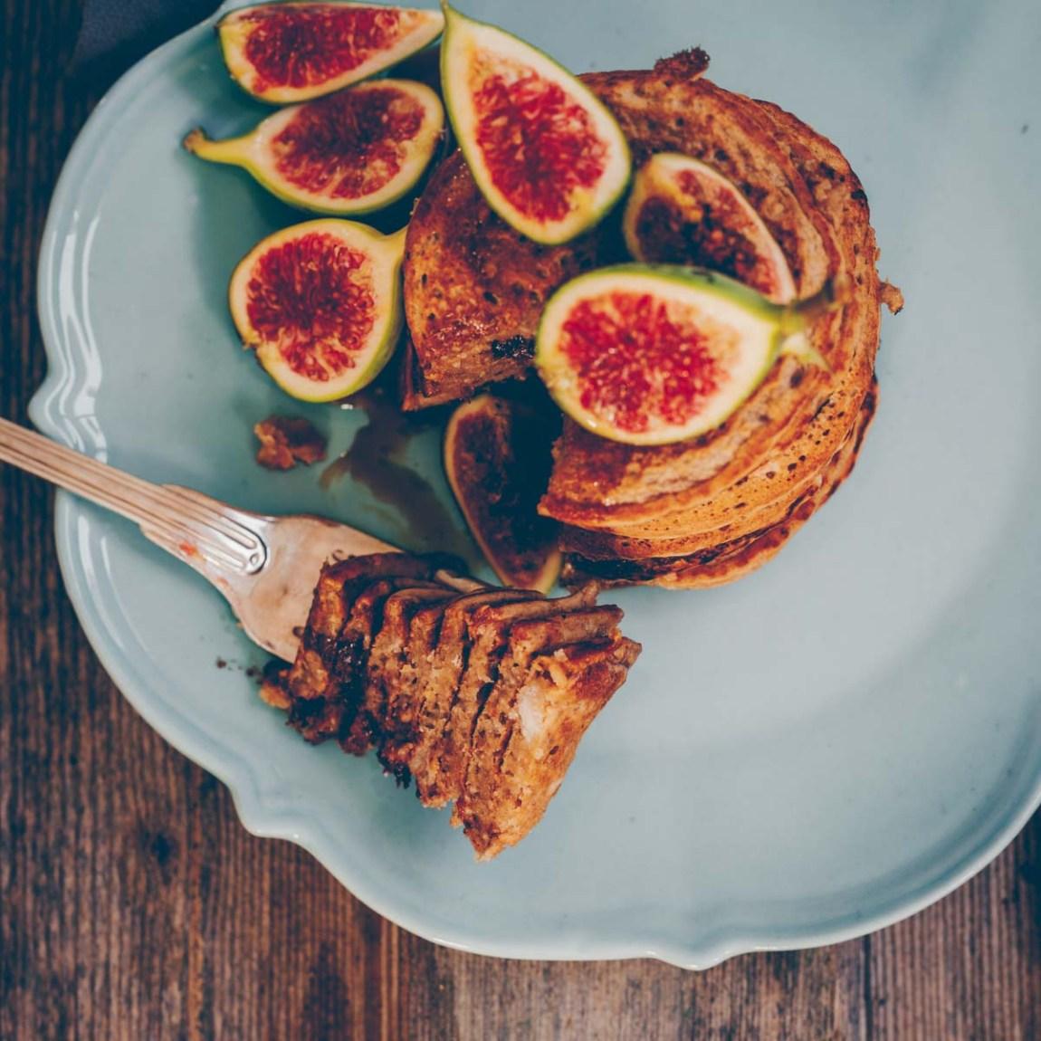 Vegane Chia Pancakes