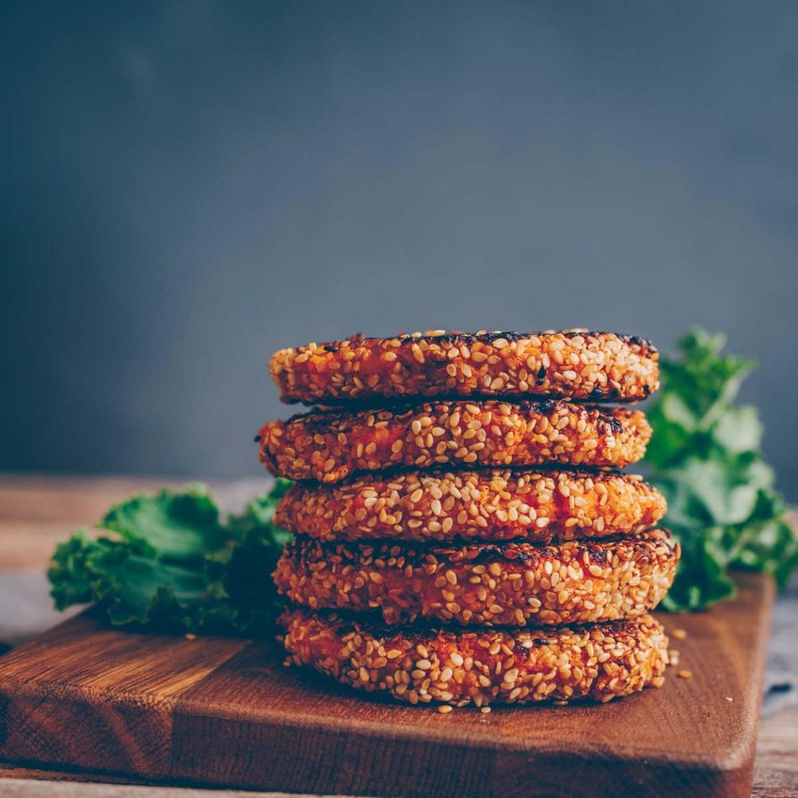 vegane Kürbis-Burger