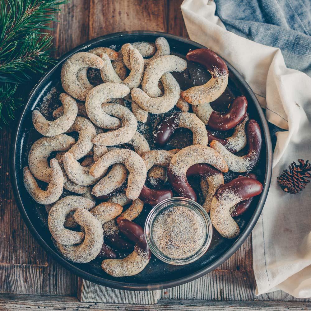 Weihnachtsplätzchen vegan