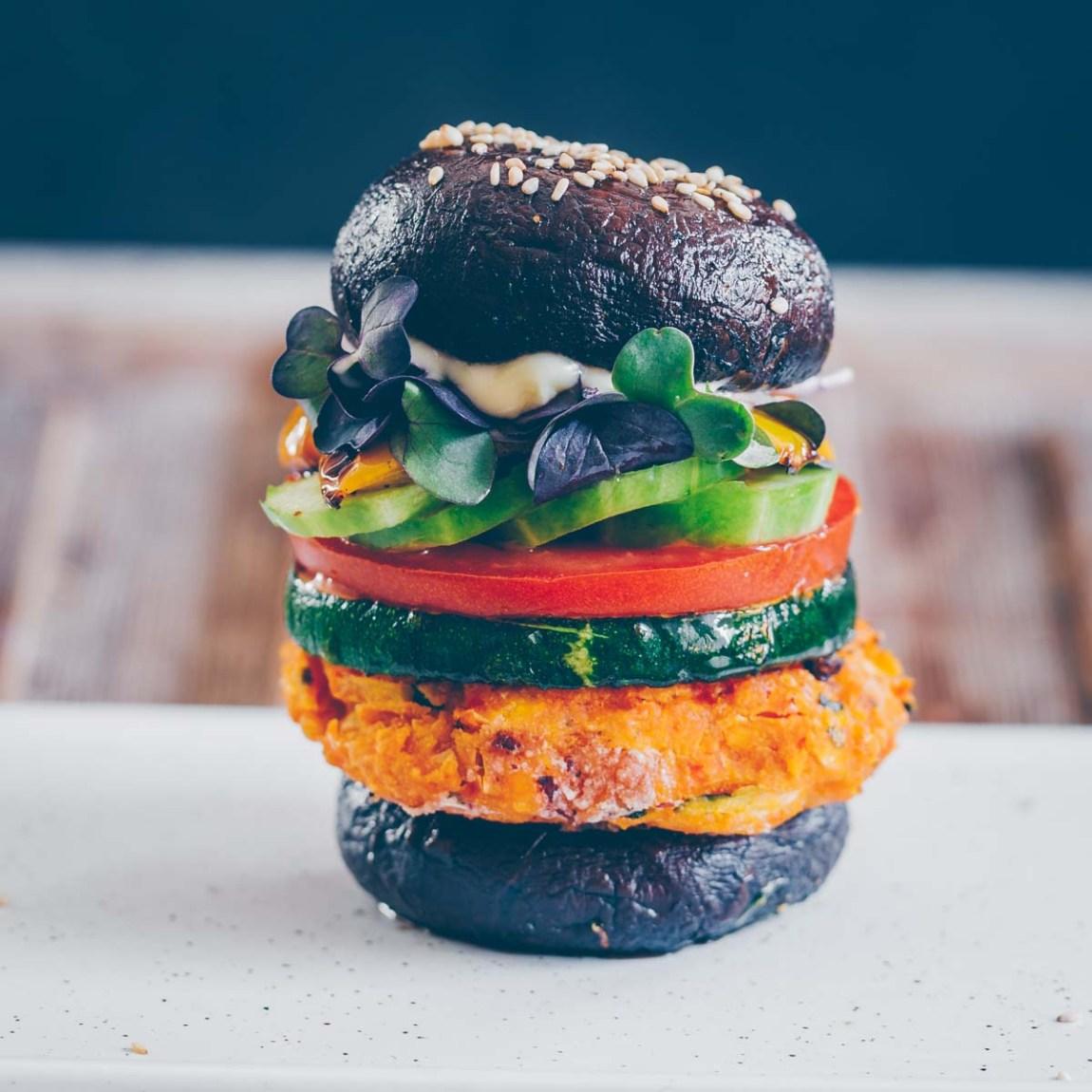 Mais-Zuchetti Burger vegan