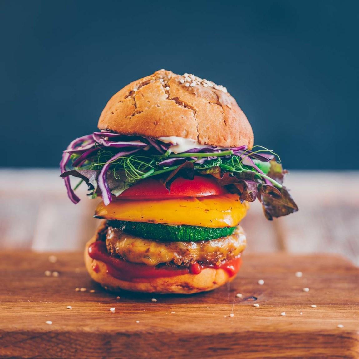 Tofu Pilz Burger Pattie vegan