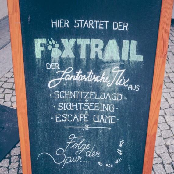 Berlin mit Kids und der Foxtrail