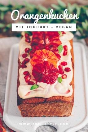 Schneller Orangenkuchen - vegan